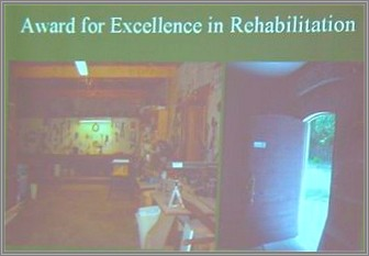 Award for Excellence in Rehabilitation